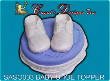 BABY SHOE TOPPER
